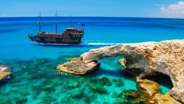 Кипр погода летом