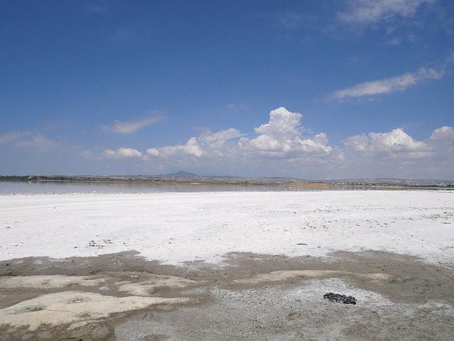 Ларнака соляное озеро