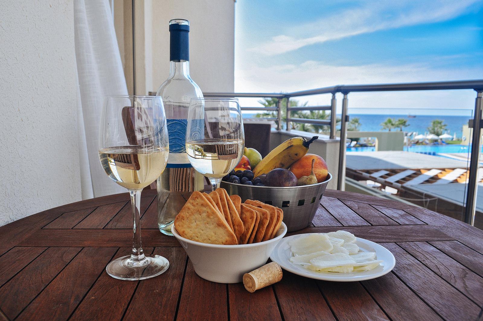 Кипр ресторан еда