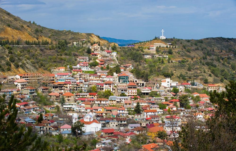 Кипр деревня Педулас