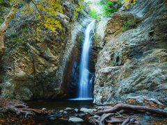 Водопады на Кипре